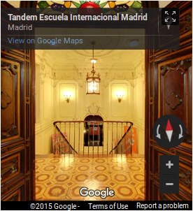 TANDEM School virtual tour on Google Maps