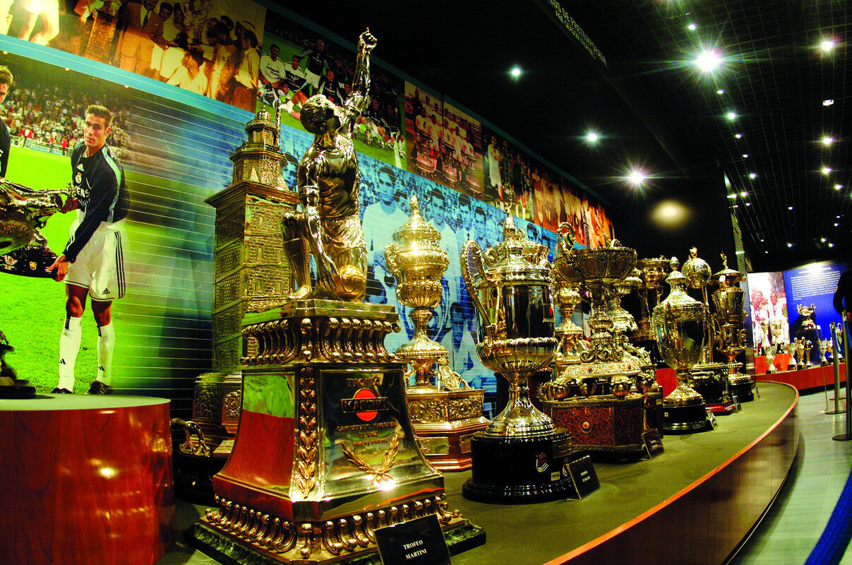 Museo Real Madrid.Museo Of Real Madrid Football Club Learn Spanish In Madrid Spain