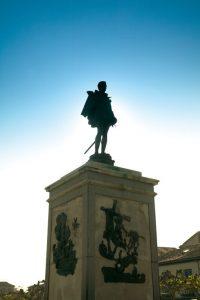 Alcala de Henares, Cervantes Statue