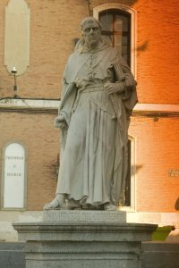 Alcala de Henares, Cisneros Statue