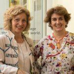 Begoña Llovet y Matilde Cerrolaza