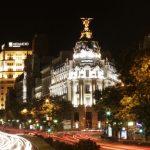 Rue Alcalá, la nuit