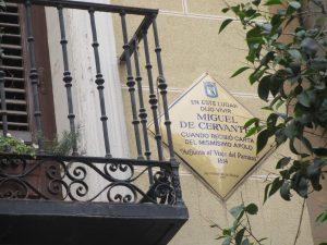 Calle Cervantes Madrid
