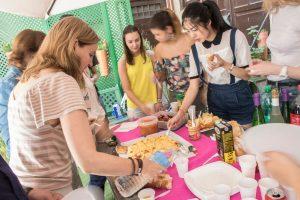 Cultural Program: comidas del mundo