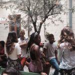 Échange d'étudiants parlant, TANDEM Madrid