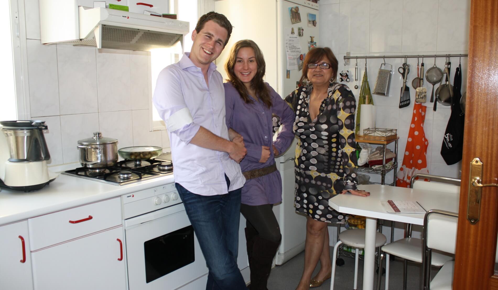 TANDEM Madrid, family accommodation