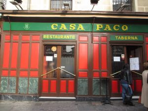 Gastronomy Casa Alberto Madrid