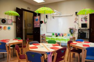 Junior programs: special classrooms