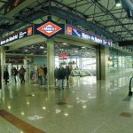 Madrid transportiert Metrostation