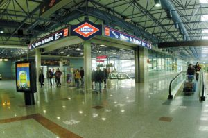 Madrid Transports Metro Station