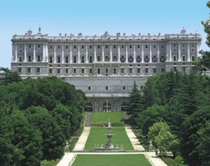 Palacio Real Madrid Gardens