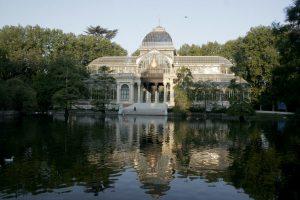 Parque del Retiro Madrid, Palacio Cristal