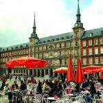 Plaza Mayor Madrid Terrasse