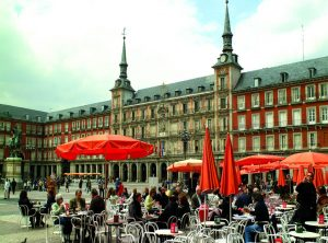 Plaza Mayor Madrid terrace