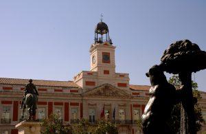 Puerta del Sol Madrid, Oso