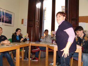Spanish classes with the teacher Cristina Hernández