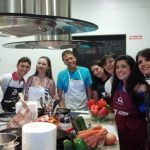 Spanish group cooking, TANDEM Madrid