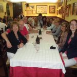 Spanish students group in a restaurant, TANDEM Madrid