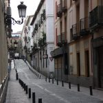 Street in Barrio de las Letras, Madrid