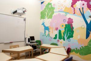 TANDEM Madrid, children's classroom