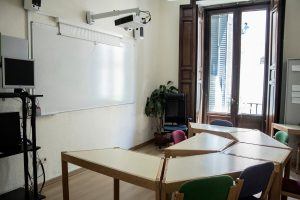 TANDEM Madrid classroom multimedia