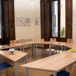 TANDEM Madrid, geräumiges Klassenzimmer