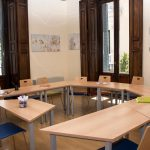TANDEM Madrid, salle de classe spacieuse