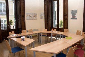 TANDEM Madrid, spacious classroom