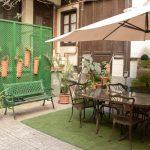 TANDEM Madrid, otra vista del jardín