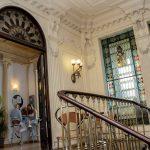 TANDEM Madrid, outra vista da entrada e vitrais