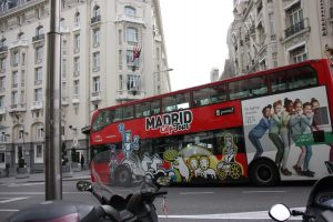 Tourist Bus Madrid