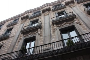 Typical Building in Madrid
