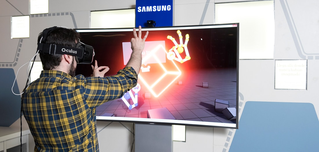 Virtual reality space
