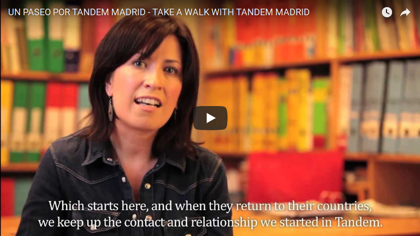 UN PASEO POR TANDEM MADRID - TAKE A WALK WITH TANDEM MADRID