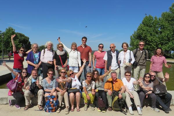 Spanisch für Gruppen: Die Volkshochschulgruppe aus Ludwigsburg besuchte TANDEM