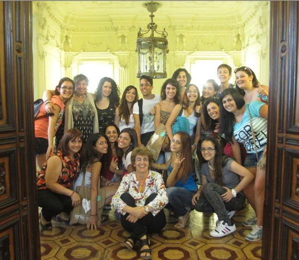 Español para Grupos: Grupo de la Universidad de Catania, verano 2014