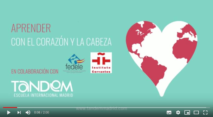 Vídeo Aprender con el Corazón y la Cabeza